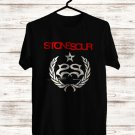 Stonesour Hydrograd Album Logo Black Tee's Front Side by Complexart z2