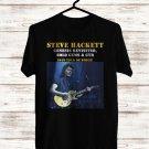 Steve Hackett Genesis Revisited De Force Tour 2018 Black Tee's Front Side by Complexart z3