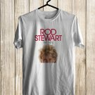 Rod Stewart The Hits Las Vegas Tour 2018 White Tee's Front Side by Complexart z1