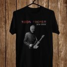 Robin Trower United States Tour 2018 Black Tee's Front Side by Complexart z3