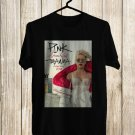 Pink Beautiful Trauma Tour 2018 Black Tee's Front Side by Complexart z2