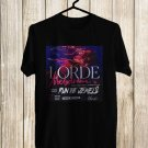 Lorder Melodrama Tour 2018 Black Tee's Front Side by Complexart z1