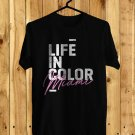 Life In Color Festival 2018 Black Tee's Front Side by Complexart z2
