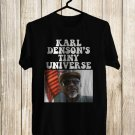 Karl Denson's Tiny Universe Winter Tour 2018 Black Tee's Front Side by Complexart z1