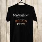Kamelot North America Tour 2018 Black Tee's Front Side by Complexart z3