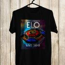 Jeff lynne's ELO Tour 2018 Black Tee's Front Side by Complexart z3