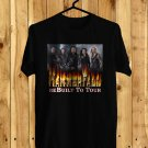 Hammerfall Rebuilt To Tour 2018 Black Tee's Front Side by Complexart z3