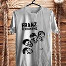 Franz Ferdinand Tour 2018 White Tee's Front Side by Complexart z1