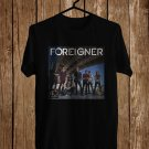Foreigner 40th Anniversary Black Tee's Front Side by Complexart z3