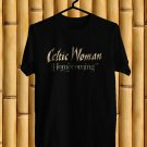 Celtic Woman Homecoming Logo 2018 Black Tee's Front Side by Complexart z1