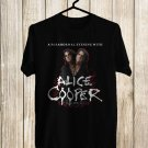Alic Cooper Paranormal Tour 2018 Black Tee's Front Side by Complexart z6