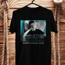 Charlie Puth The Voicenotes Tour 2018 Black Tee's Front Side by Complexart z3