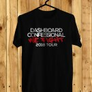 Dashboard Confessional We Fight Tour 2018 Black Tee's Front Side by Complexart z6