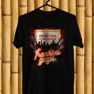 Frankie Valli & The Four Seasons Frankie Guys Black Tee's Front Side by Complexart z2