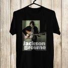Jackson Browne Live USA 2018 Black Tee's Front Side by Complexart z1