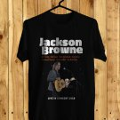 Jackson Browne Live USA 2018 Black Tee's Front Side by Complexart z3