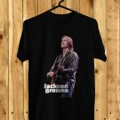Jackson Browne Live Black Tee's Front Side by Complexart z4