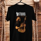 Jackson Browne Live USA 2018 Black Tee's Front Side by Complexart z5