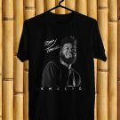 Khalid Roxy Tour 2018 Black Tee's Front Side by Complexart z1