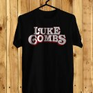 Luke Combs Logo New Tour 2018 Black Tee's Front Side by Complexart z2