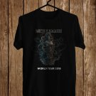 Meshuggah Logo for Tour 2018 Black Tee's Front Side by Complexart z3