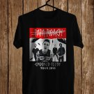Papa Roach Crooked Teeth Tour 2018 Black Tee's Front Side by Complexart z7