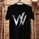 Sleeping With Sirens Logo for Tour 2018 Black Tee's Front Side by Complexart z2