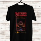 Sleeping With Sirens Gossip World Tour 2018 Black Tee's Front Side by Complexart z5