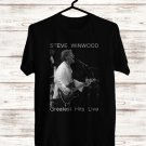 Steve Winwood The Greatest Hits Tour 2018 Black Tee's Front Side by Complexart z1