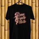 Stone Temple Pilots Tour 2018 Black Tee's Front Side by Complexart z2