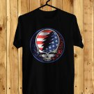 Dead and Company Logo Black Tee's Front Side by Complexart z2