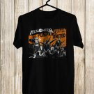 Helloween Pumpkins United Tour 2018 Black Tee's Front Side by Complexart z2