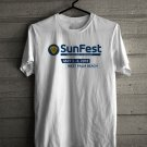 SunFest Music Festival May 2018 White Tee's Front Side by Complexart z2