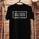 SLOSS Music Festival July 2018 Black Tee's Front Side by Complexart z2