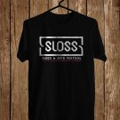 SLOSS Music Festival July 2018 Black Tee's Front Side by Complexart z3