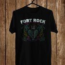 Fort Rock Music Festival April 2018 Black Tee's Front Side by Complexart z2