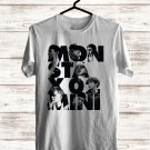 Monsta X The 2nd World Tour 2018 White Tee's Front Side by Complexart z1
