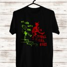 My Life With The Thrill Kill Kult Tour 2018 Black Tee's Front Side by Complexart z3