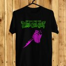 My Life With The Thrill Kill Kult Black Tee's Front Side by Complexart z3