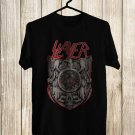 Slayer Logo Black Tee's Front Side by Complexart z1