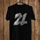 21Savage Logo Black Tee's Front Side by Complexart z1
