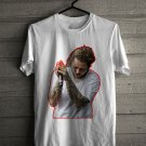 Post Malone white Tee's Front Side by Complexart z1
