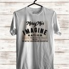 Mercy Me Imagine Nation Tour 2018 White Tee's Front Side by Complexart z1