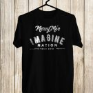 Mercy Me Imagine Nation Tour 2018 Black Tee's Front Side by Complexart z2