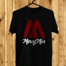 Mercy Me Logo Black Tee's Front Side by Complexart z1