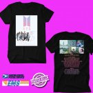 BANGTAN BOYS BTS LOVE YOURSELF WORLD TOUR 2018 Black Tee's Two Side by Complexart z2