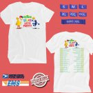 Sesame Street Live:Lets Party Tour 2018 White Tee's Two Side by Complexart z1
