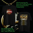 Slash Living The Dream Tour 2018 Black Tee's Two Side by Complexart z2