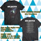 Ben Rector The Magic Tour 2018 Black Tee's Two Side by Complexart z1