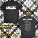 Ben Rector The Magic Tour 2018 Black Tee's Two Side by Complexart z2